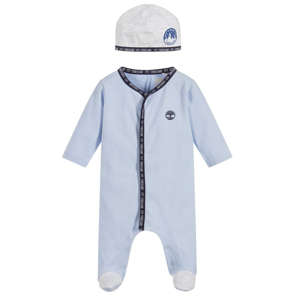 400cd9087 TIMBERLAND ALL IN ONE T97304. TIMBERLAND BABYGROW AND HAT SET T97302